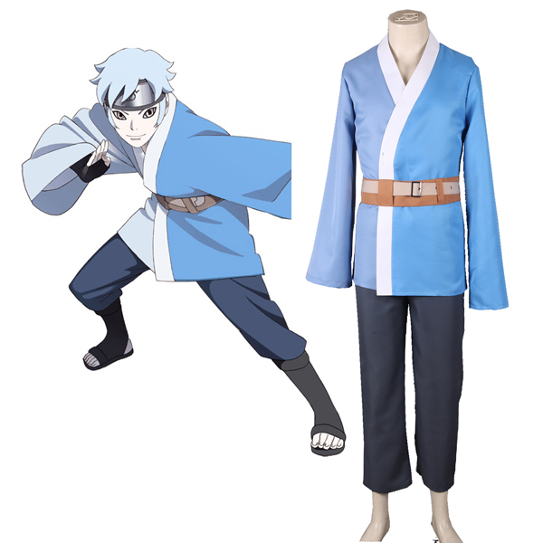 Boruto: Naruto Next Generations Son of Orochimaru Mitsuki Kimono Cosplay Jelmez Karnevál