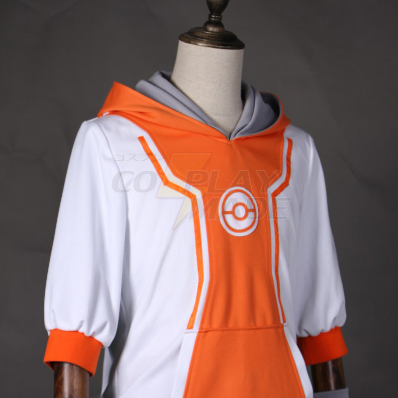 Pokemon Go Team Valor Mystic Instinct Trainer Figure Orange Hoodie Cosplay Costume New Zealand