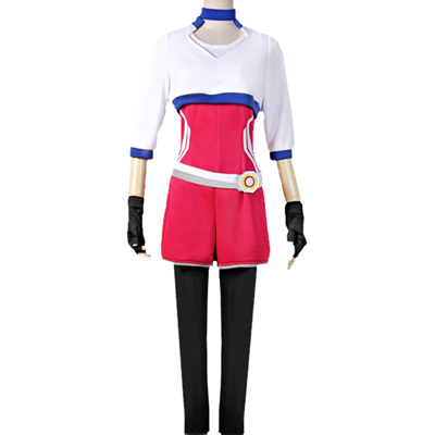 Pokemon Go Trainer Uniform Team Valor Instinct Mystic White Cosplay Halloween Costume