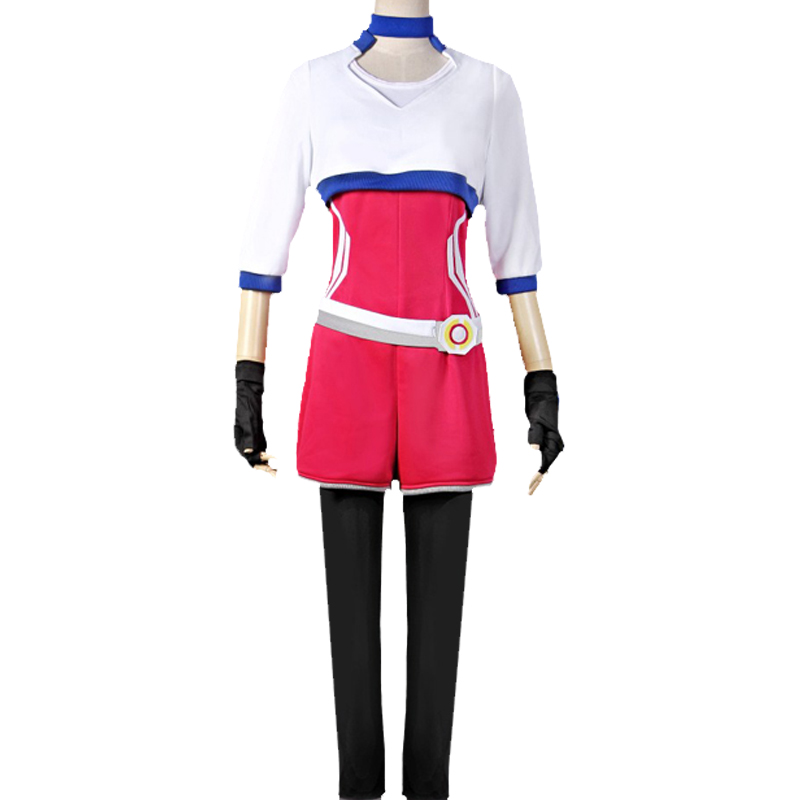 Pokemon Go Trainer Uniform Team Valor Instinct Mystic Hvit Cosplay Halloween Kostymer Norge