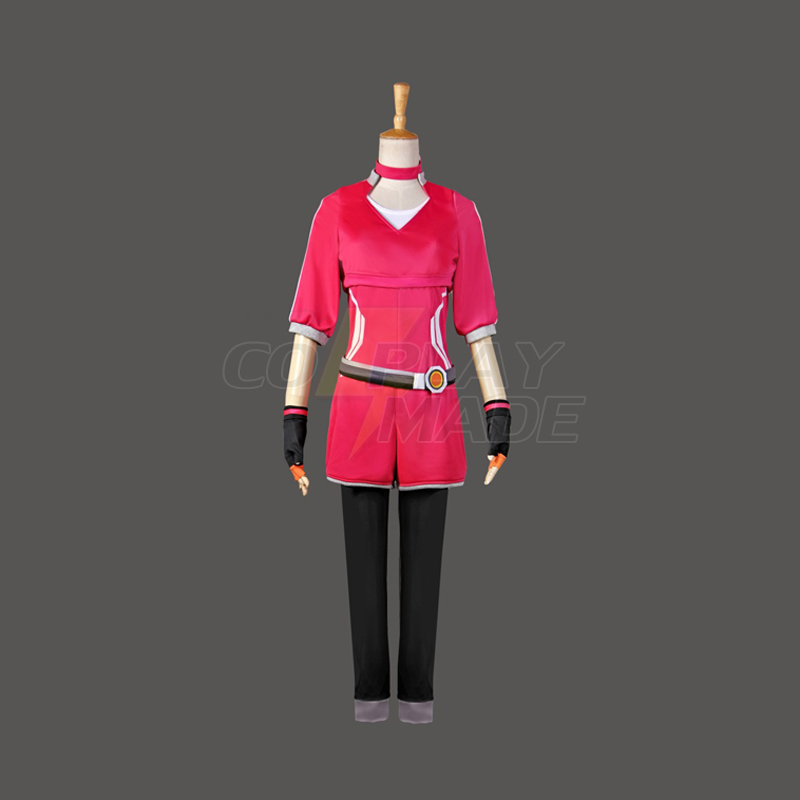 Pokemon Go Trainer Uniform Team Valor Instinct Mystic rød Cosplay Halloween Kostymer Norge