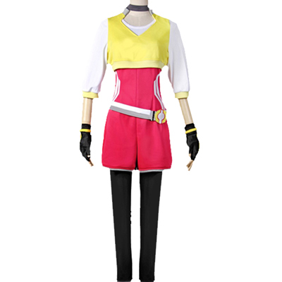 Trajes Pokemon Go Trainer Uniform Team Valor Instinct Mystic Amarelo Cosplay Halloween Traje Brasil