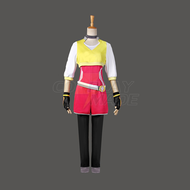 Pokemon Go Trainer Uniform Team Valor Instinct Mystic Keltainen Cosplay Halloween Puvut Suomi