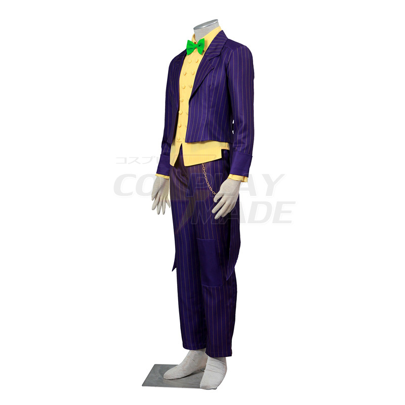 Déguisement Batman:Arkham City Joker Costume Carnaval Cosplay Halloween France
