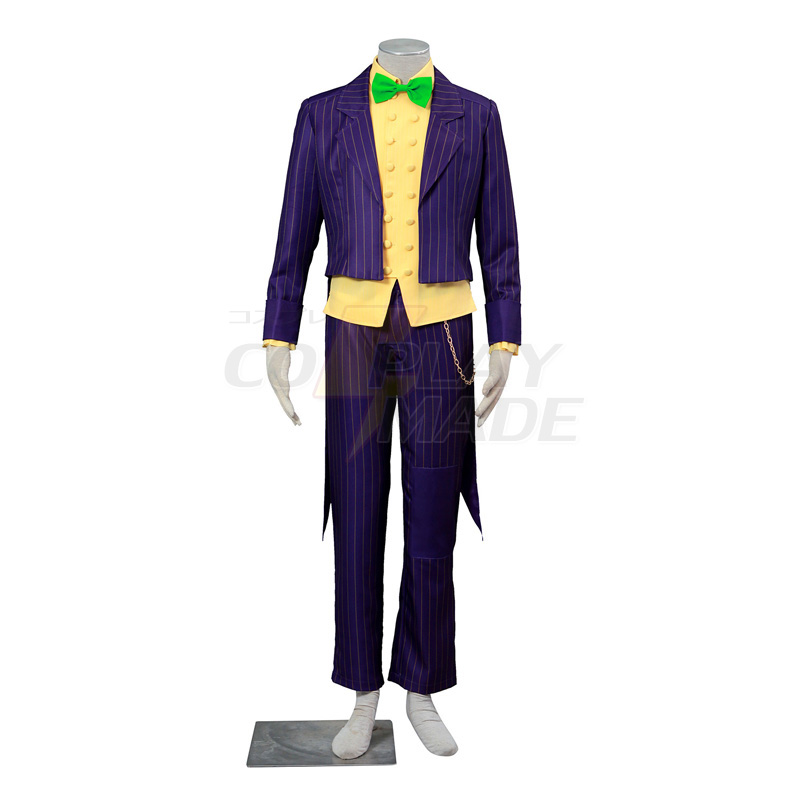 Batman:Arkham City Joker Cosplay Halloween Costume ...