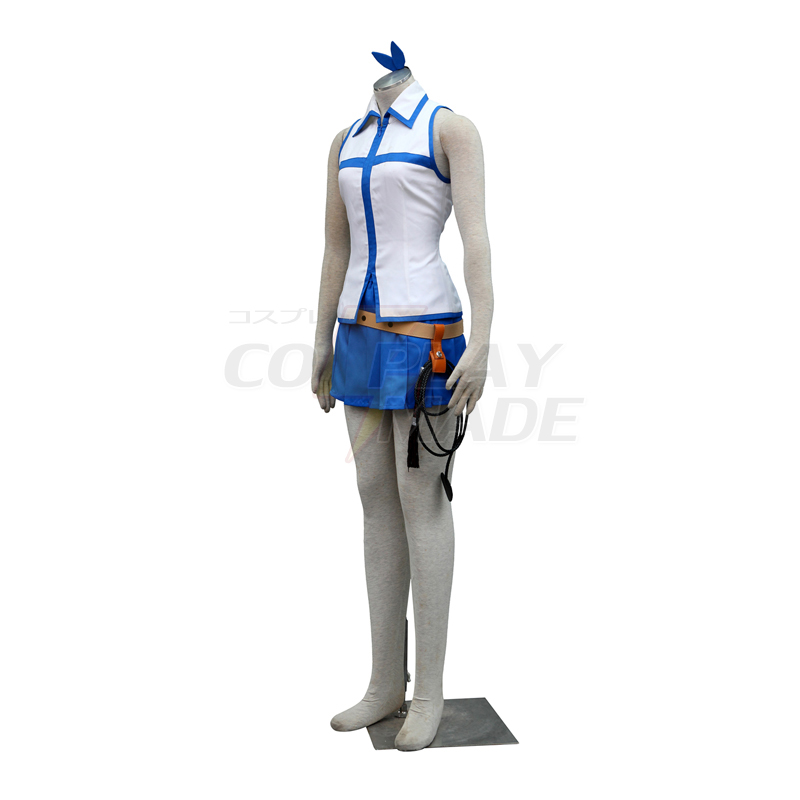 Fairy Tail Lucy 1ST Cosplay Kostuums België (Contain Galaxia whip)
