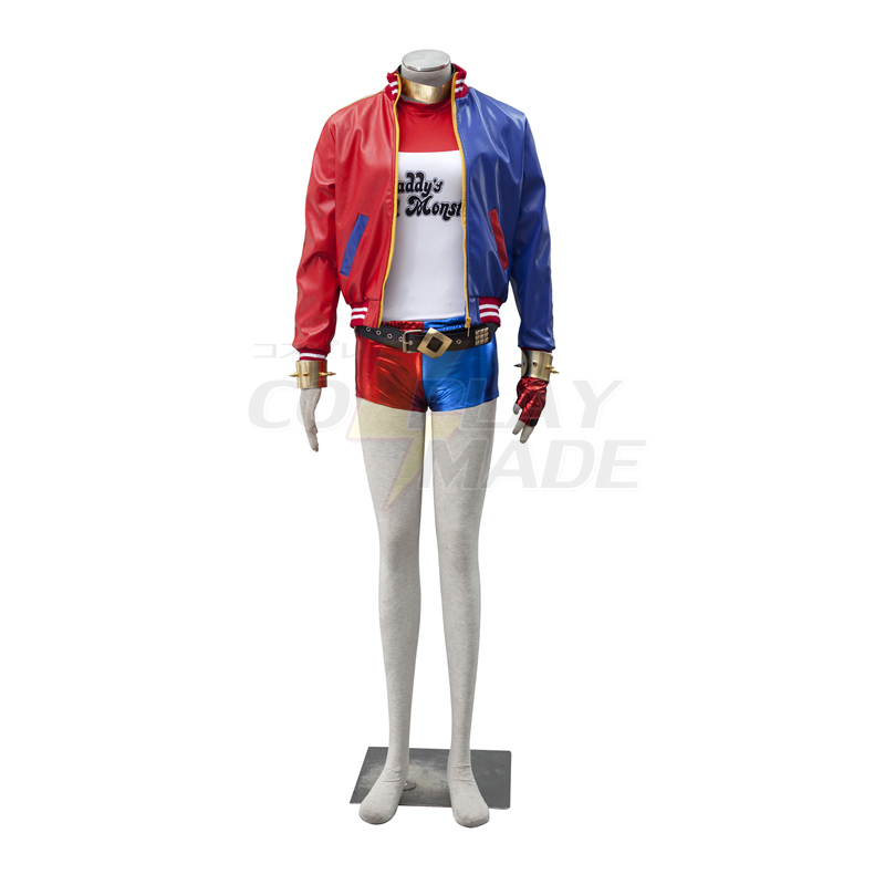 Trajes Suicide Squad Harley Quinn Cosplay Halloween Traje Deluxe Edition Brasil