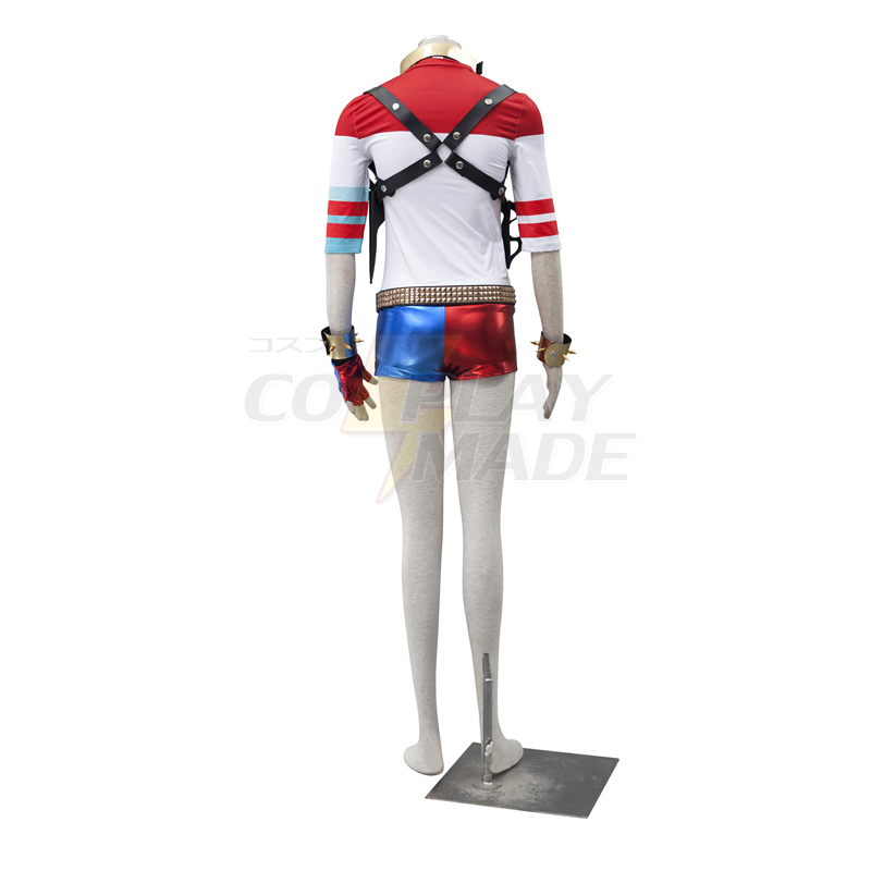 Suicide Squad Harley Quinn Cosplay Halloween Costume Deluxe Edition Australia Online Store