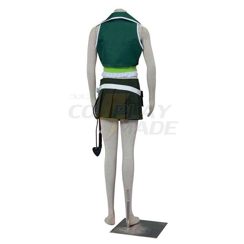 Fairy Tail Lucy 3ST Green Cosplay Halloween Kostuums België