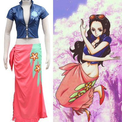 Trajes One Piece Nico Robin Two Years Later Cosplay Traje Brasil