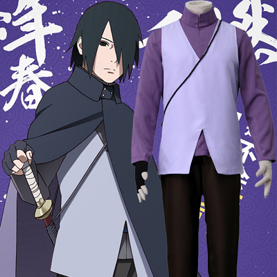Disfraces Anime Naruto Uchiha Sasuke 7TH Cosplay de Halloween España