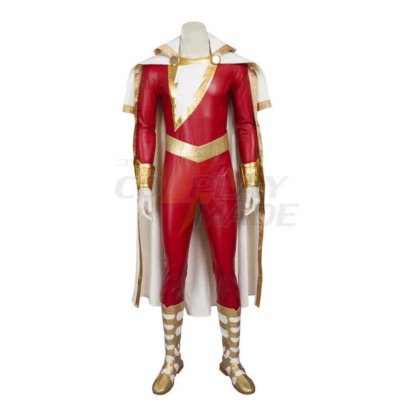 Captain Marvel Shazam Cosplay Halloween Kostuums België
