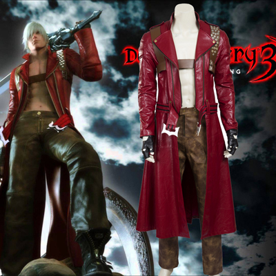 Exclusive Devil May Cry 3 Cosplay Halloween Kostymer Norge