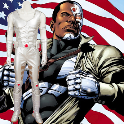 Exclusive Justice League Cyborg Cosplay Halloween Costume