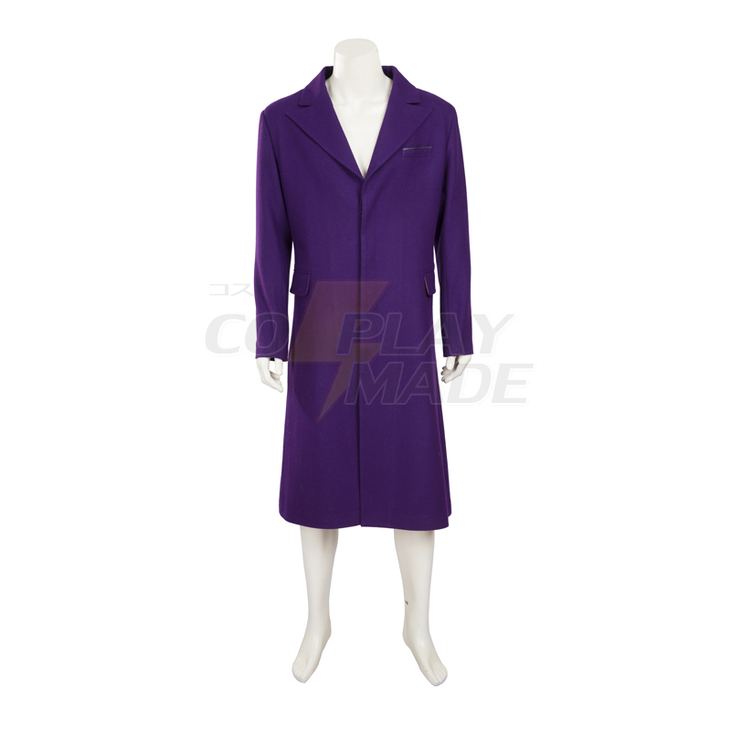 Batman The Dark Knight:The Joker Cosplay Halloween Costume New Zealand (Woolen Coat)