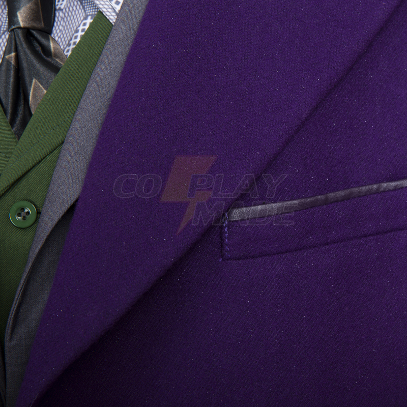 Trajes Batman The Dark Knight:The Joker Cosplay Halloween Traje Portugal (Woolen Coat)