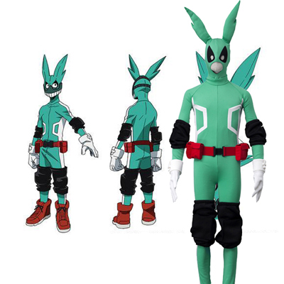 My Hero Academia Izuku Midoriya Japanese Anime Cosplay Costume