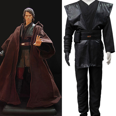 Star Wars Anakin Skywalker Cosplay Halloween Kostymer Norge