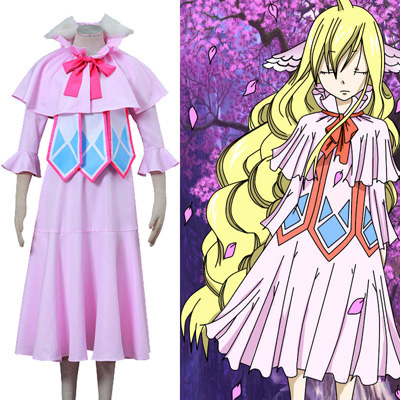 Costumi Carnevale Fairy Tail Mavis Vermilion Luxury Uniform Cosplay Italia