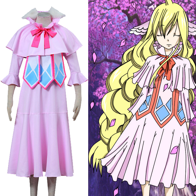 Fairy Tail Mavis Vermilion Luxury Uniform Cosplay Kostuums België