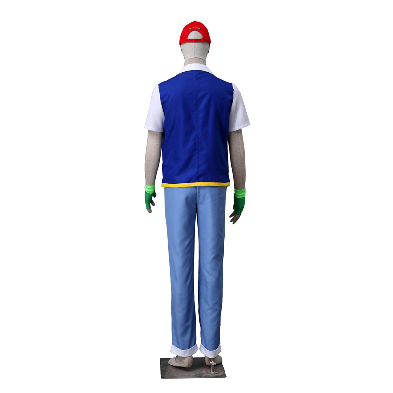 Pocket Monster/Pokémon Ash Ketchum Cosplay Halloween Kostuums België