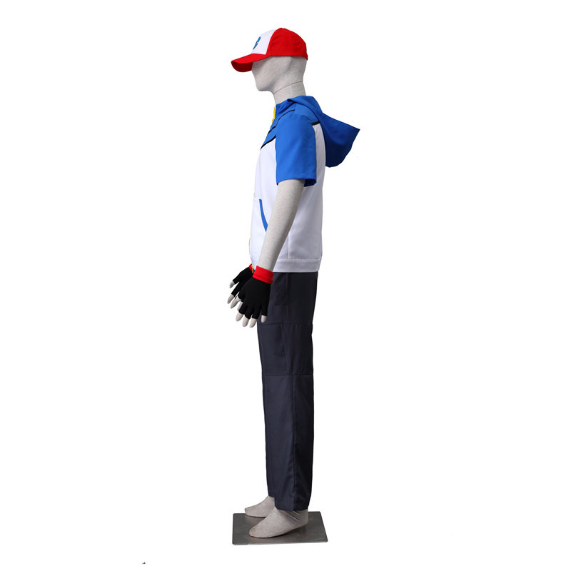 Déguisement Pocket Monster/Pokémon Ash Ketchum II Costume Carnaval Cosplay France