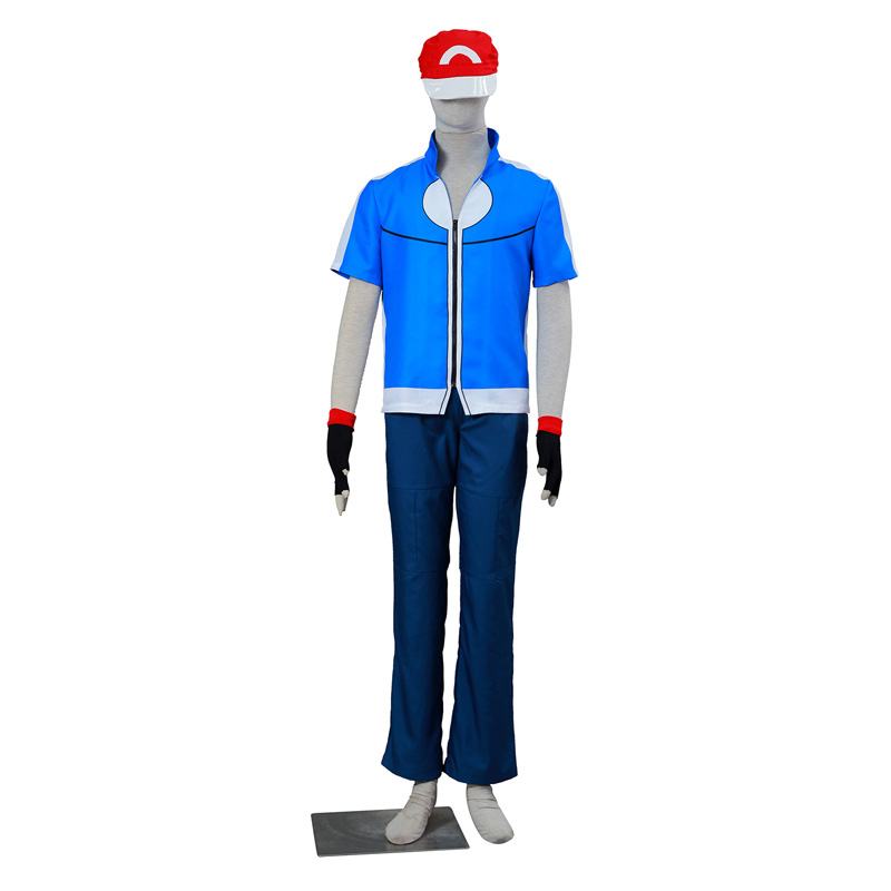 Pocket Monster/Pokémon Ash Ketchum 5 Cosplay κοστούμια Ελλάδα
