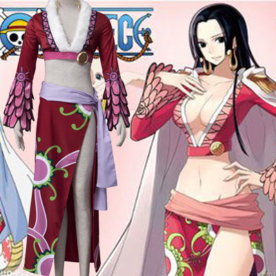 Anime One Piece Boa Hancock Cosplay Halloween Costume