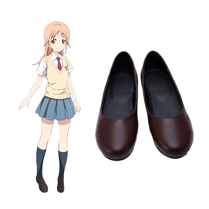 Tari Tari Miyamoto Konatsu Cosplay Sko Karneval Støvler