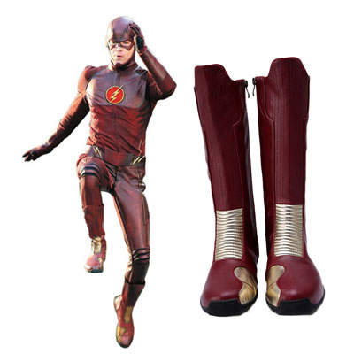 Zapatos The Flash Barry Allen Cosplay Botas