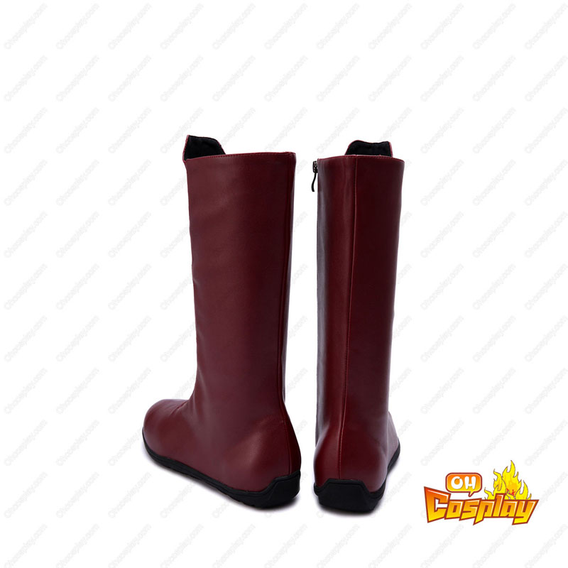 The Flash Barry Allen Faschings Stiefel Cosplay Schuhe