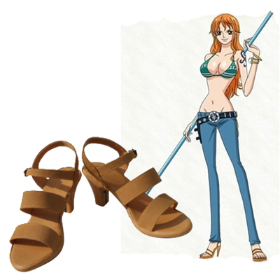 One Piece Nami Chaussures Carnaval Cosplay
