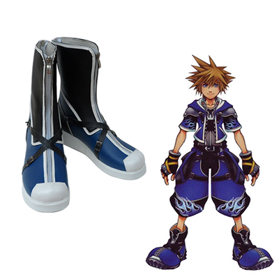Kingdom Hearts Sora Faschings Stiefel Cosplay Schuhe