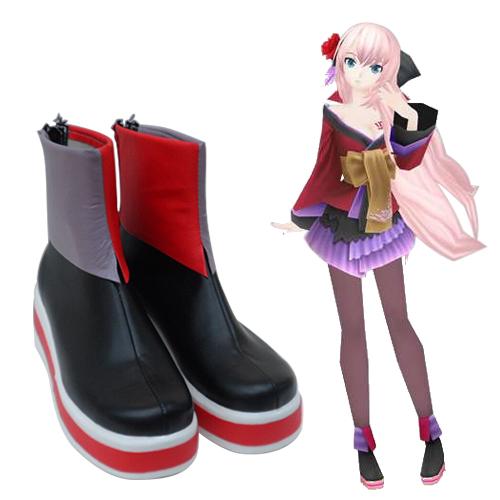 Vocaloid Megurine Luka Chaussures Carnaval Cosplay