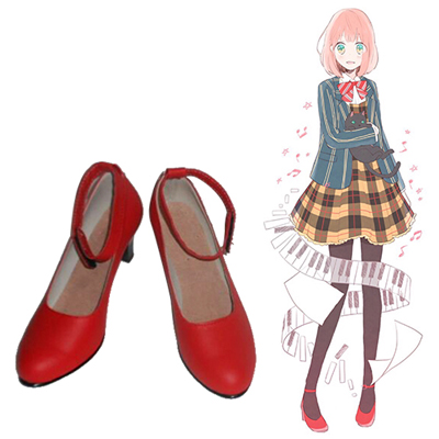 Zapatos Uta no Prince-sama Nanami Haruka Cosplay Botas
