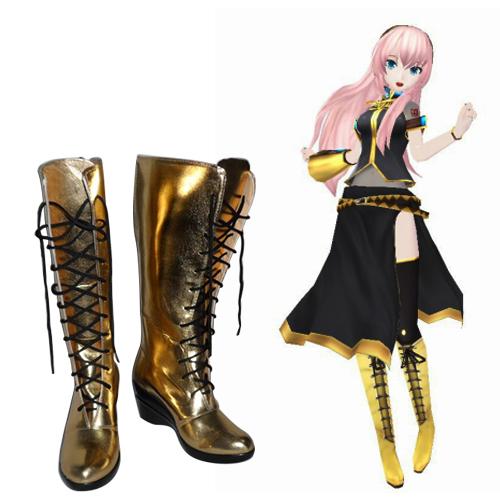 Vocaloid Megurine Luka Bottes Carnaval Cosplay