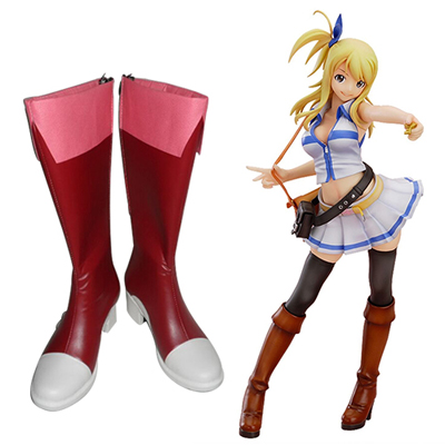 Fairy Tail Wendy Marvell Cosplay Boots UK