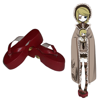 Vocaloid Kagamine Rin Cosplay Shoes