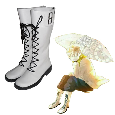 Dramatical Murder Clear Faschings Stiefel Cosplay Schuhe
