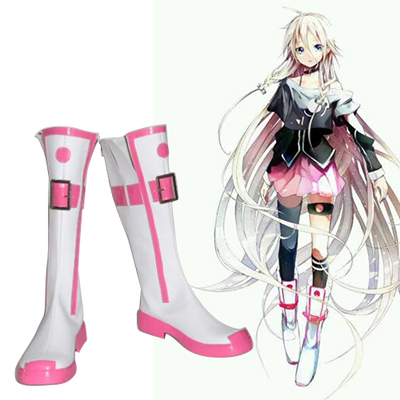 Vocailoid IA Faschings Stiefel Cosplay Schuhe