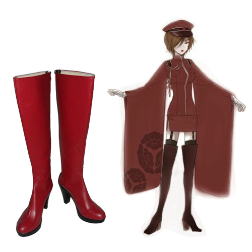Vocailoid Meiko Faschings Stiefel Cosplay Schuhe