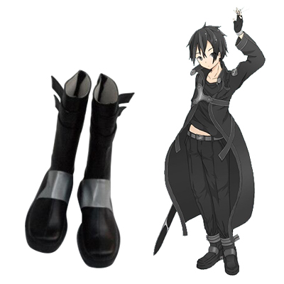 Sword Art Online Kirigaya Kazuto Cosplay Shoes