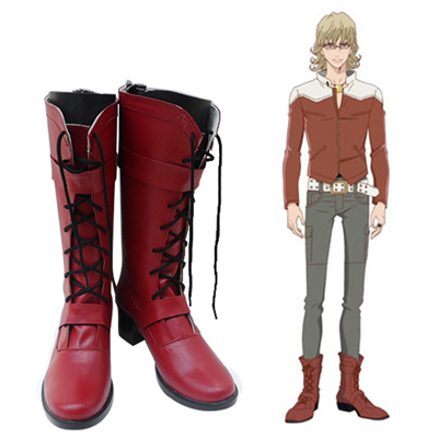Tiger & Bunny Barnaby Brooks Jr. Faschings Stiefel Cosplay Schuhe