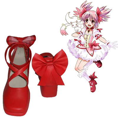 Puella Magi Madoka Magica Kaname Madoka Cosplay Shoes NZ