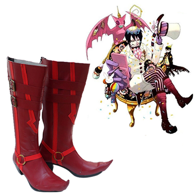 Blue Exorcist Mephisto Pheles Cosplay Shoes UK