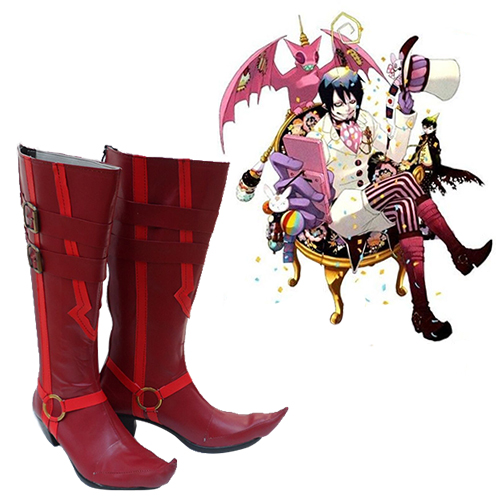 Blue Exorcist Mephisto Pheles Chaussures Carnaval Cosplay
