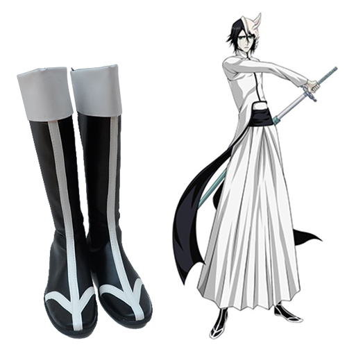 Bleach Ulquiorra Cifer Cosplay Laarzen