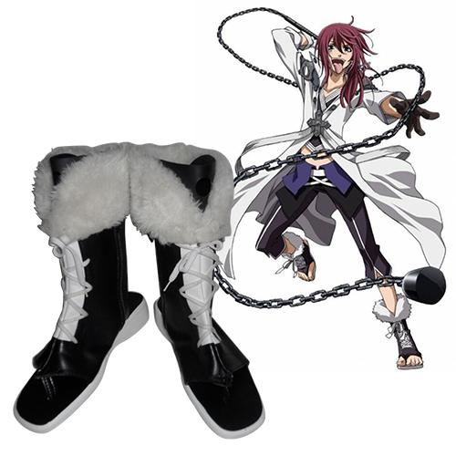 Brave 10 Yuri Kamanosuke Cosplay Laarzen
