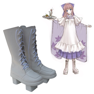 Zapatos vocaloid Megurine Luka Thousand Cherry Cosplay Botas
