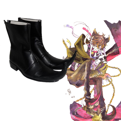Pandora Hearts Smilecat Faschings Stiefel Cosplay Schuhe